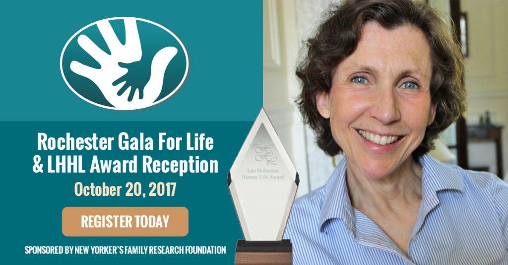 Rochester Regions 2017 Gala for Life & Leo Holmsten Human Life Award Reception