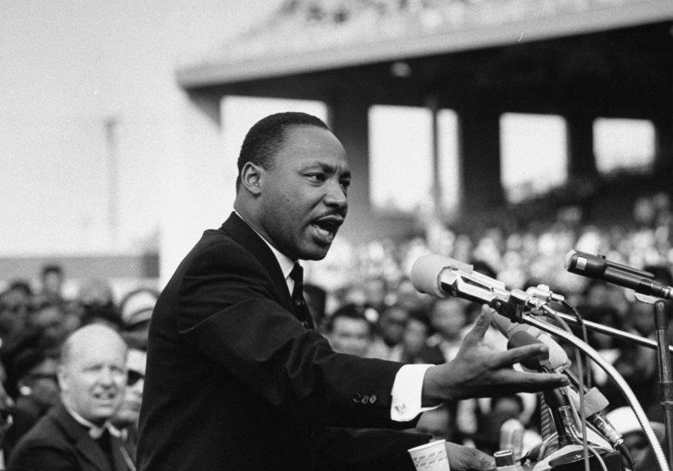 Rev. Dr. Martin Luther King Jr. speaking.  (Photo by Julian Wasser/The LIFE Images Collection/Getty Images)